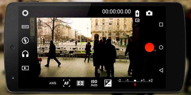 Cinema FV-5 smartphone video camera app - Mobile Motion