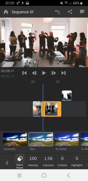 Adobe Premiere Rush Camera and Editing App now on Android -